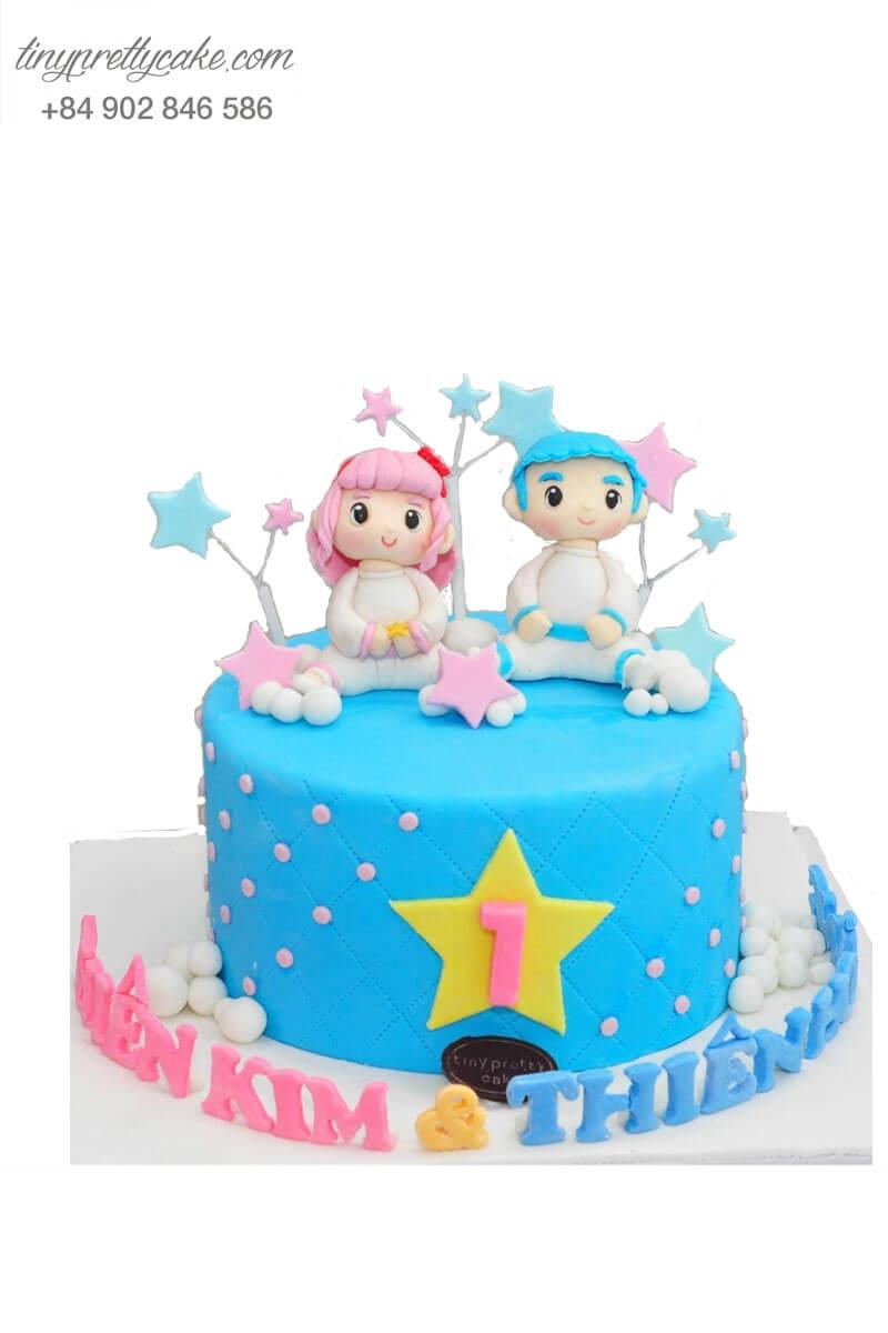 bánh sinh nhật dành cho các cặp sinh đôi