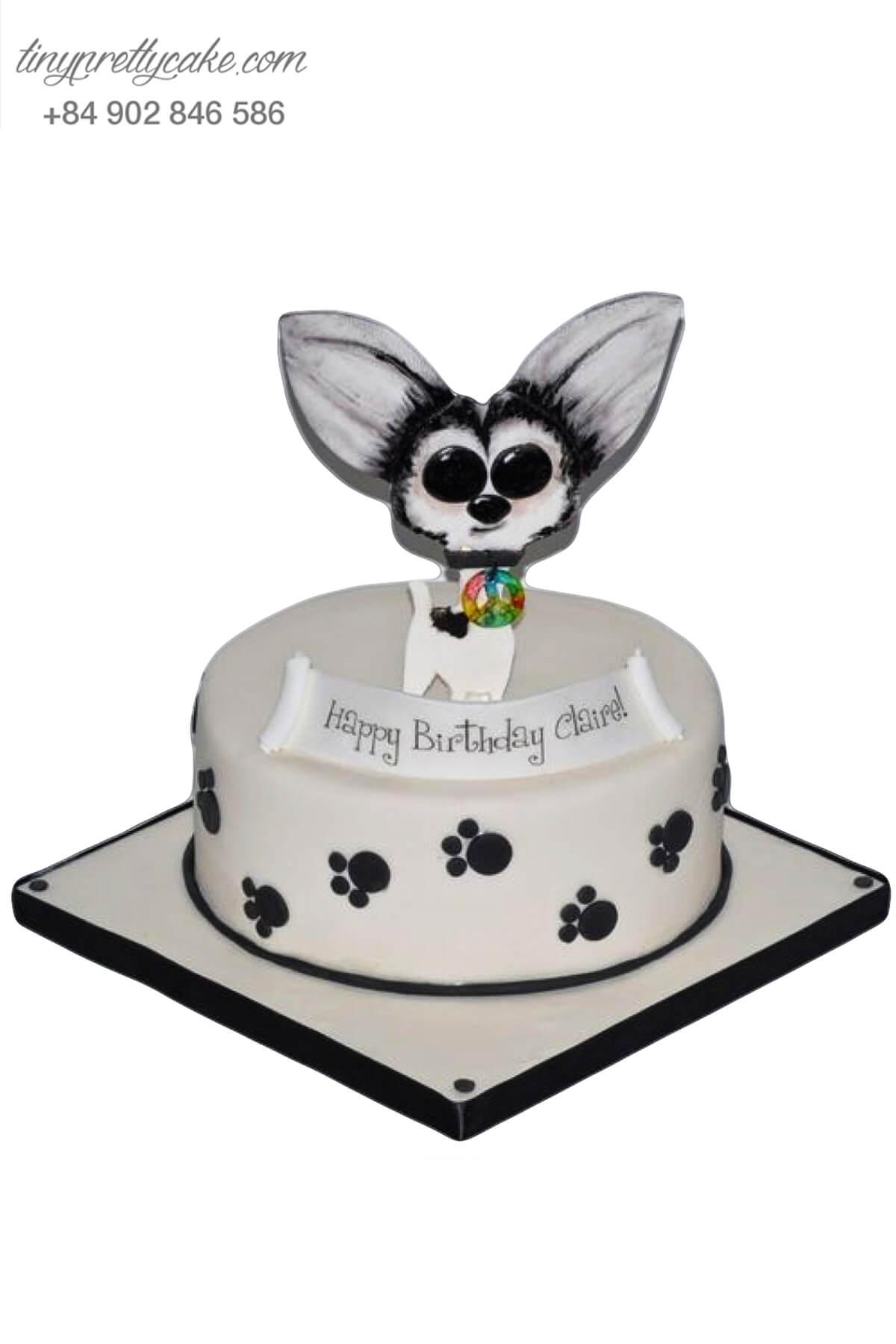 bánh sinh nhật cho bé gái tuổi tuất