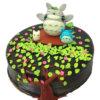 bánh kem hình Totoro