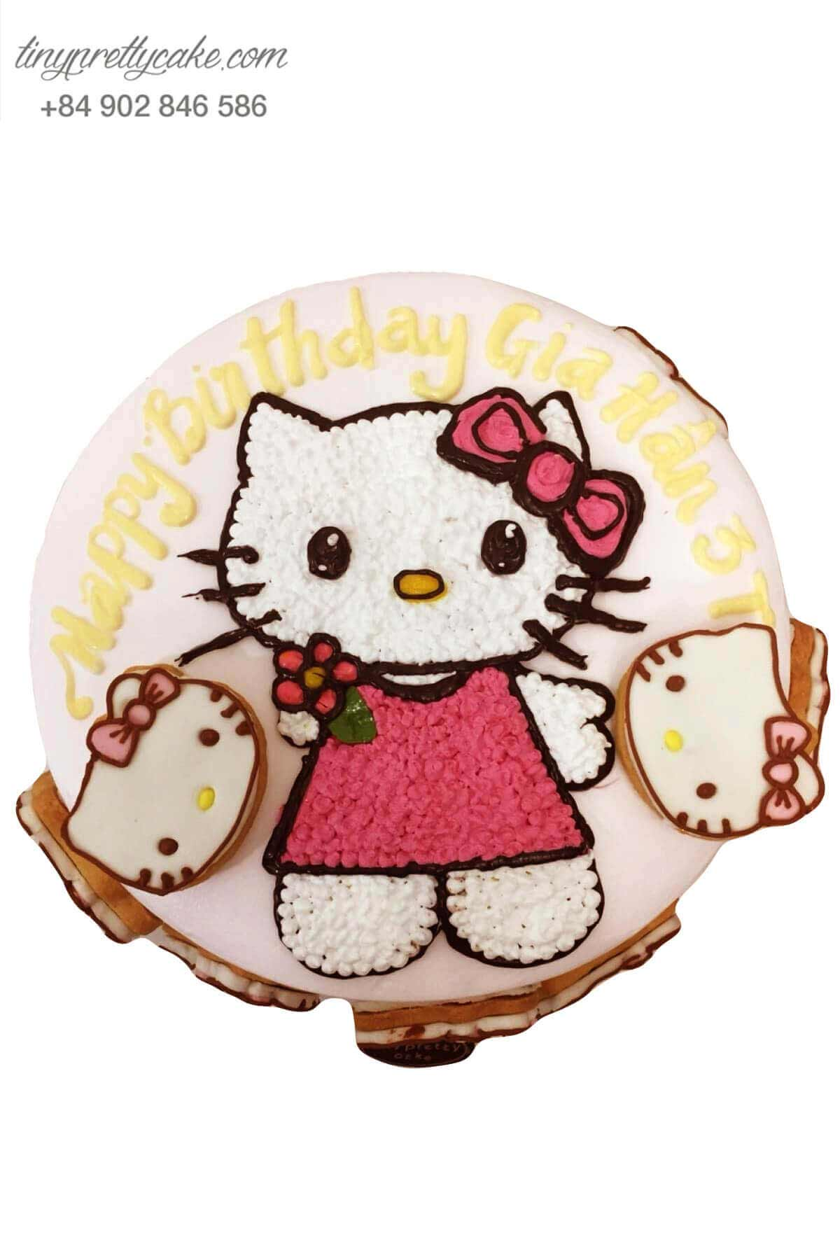 bánh kem Hello Kitty