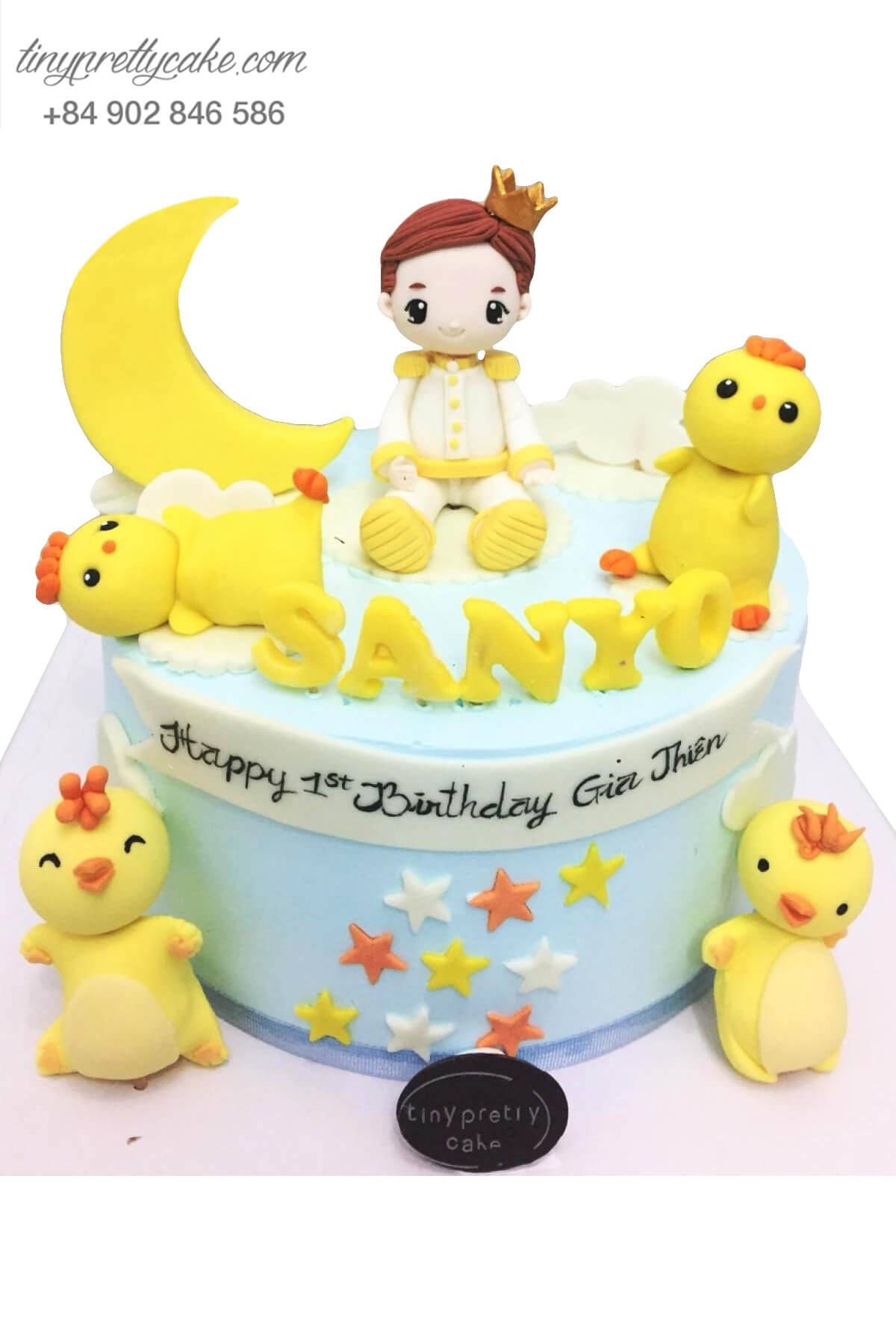 bánh sinh nhật cho bé trai tuổi dậu