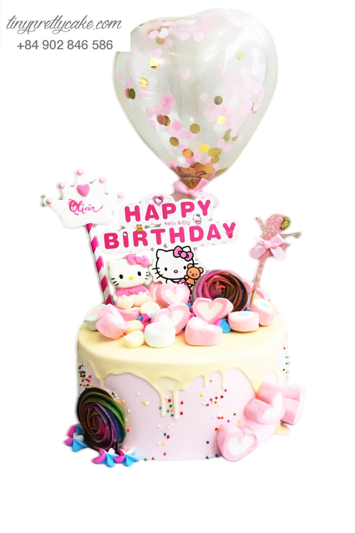 bánh sinh nhật hello kitty đẹp