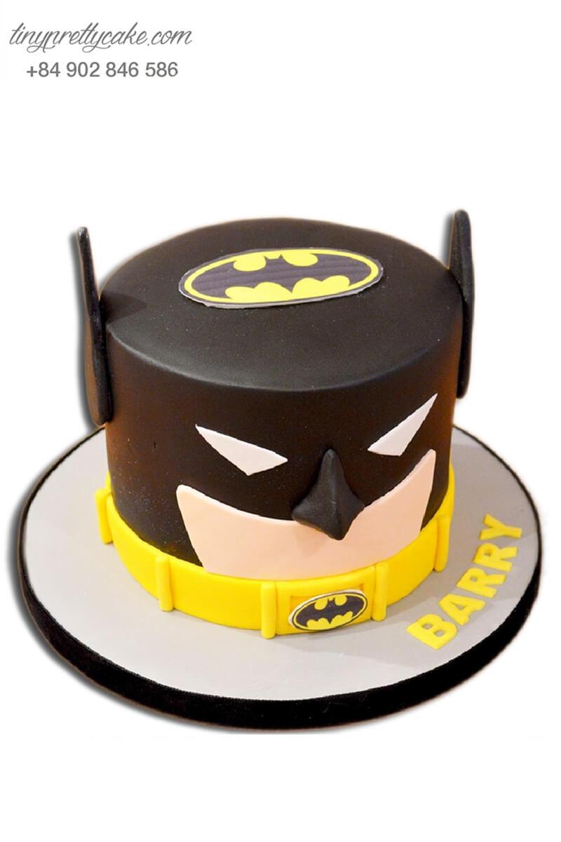 bánh gato sinh nhật theo chủ đề Batman
