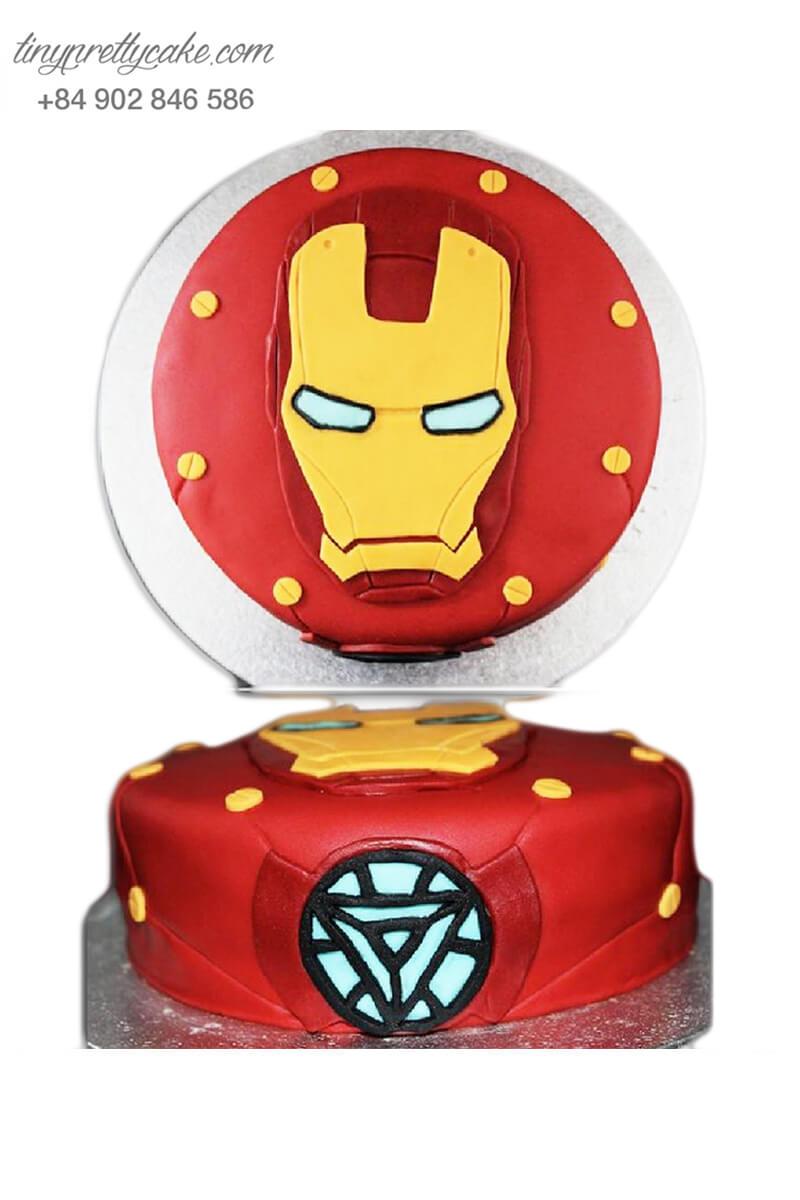 bánh sinh nhật Iron man