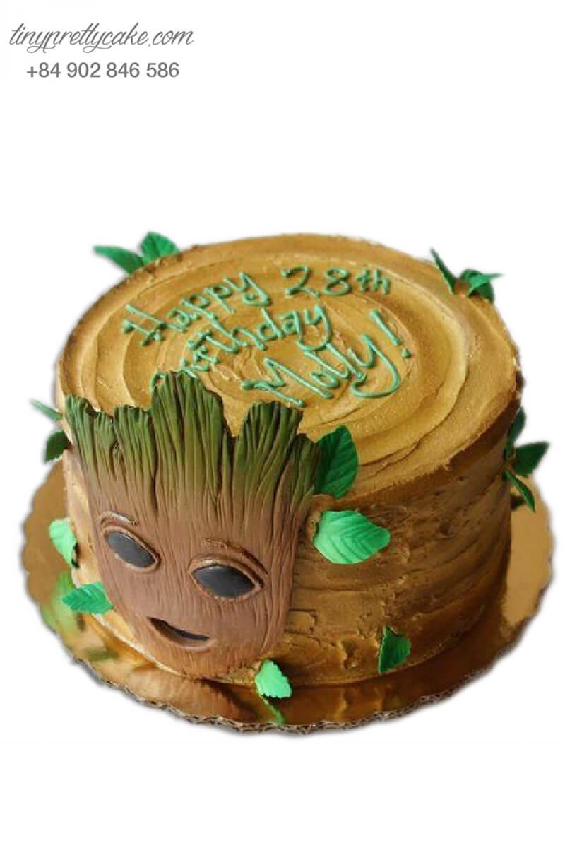 bánh sinh nhật người cây Groot