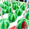 cake pop hình quả dưa hấu đáng yêu