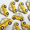 Bánh cookie xe taxi