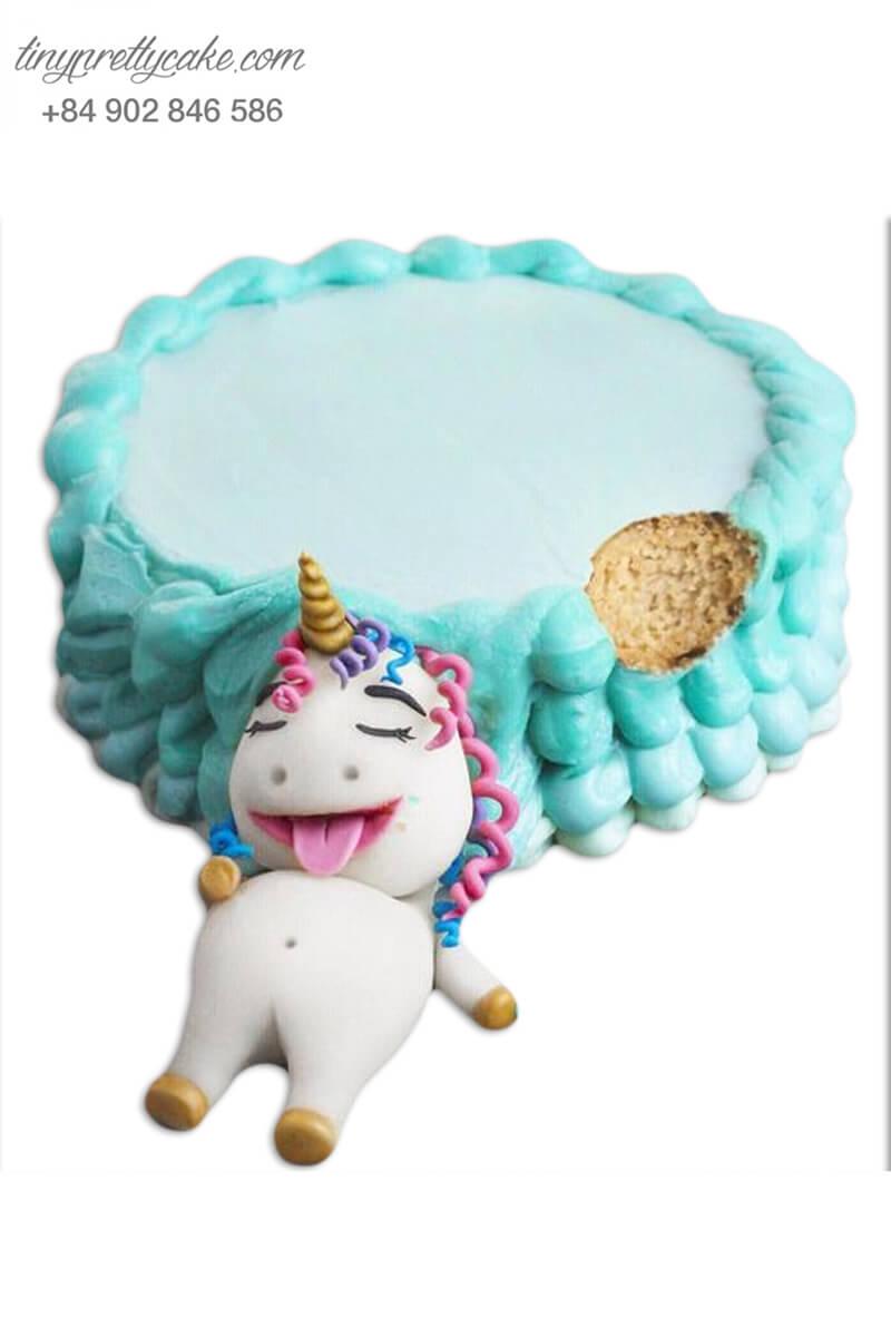 bánh kem Unicorn đáng yêu