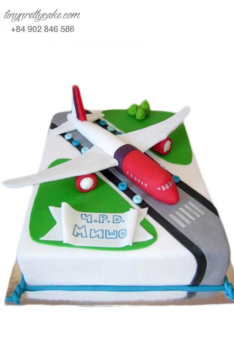 Bánh kem hình máy bay siêu đẳng