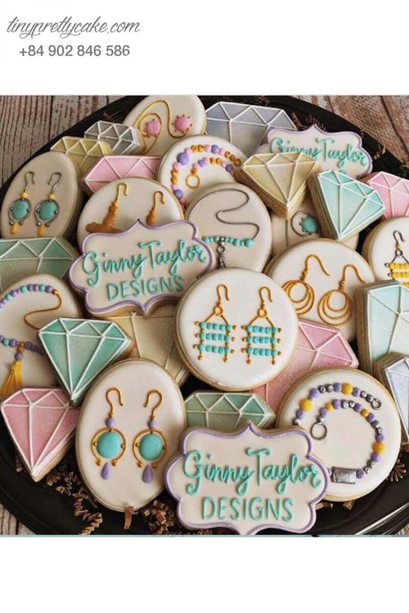 Bánh cookie khuyên tai độc đáo