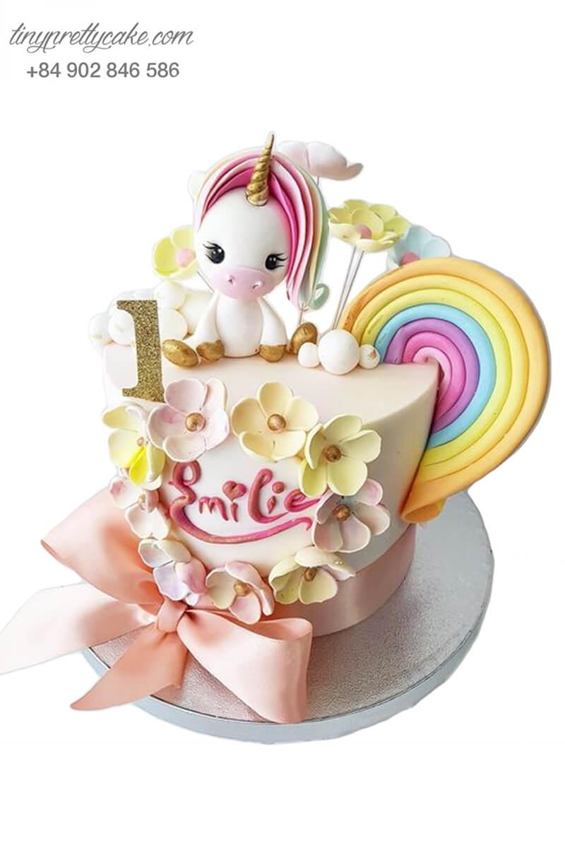 bánh kem Pony cho bé gái