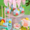 cake pop hình heo Peppa cho bé gái