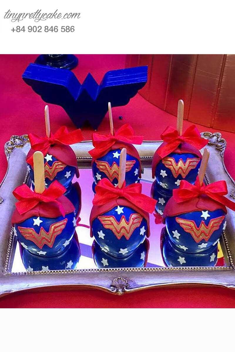 bộ bánh cake pop sinh nhật cho bé gái