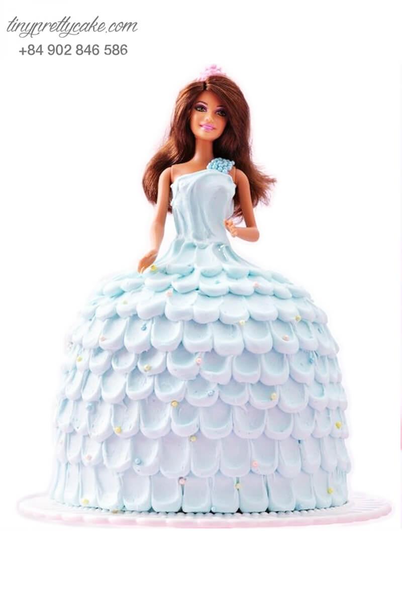 bánh sinh nhật búp bê Barbie