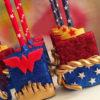 bánh cake pop sinh nhật chủ đề Wonder Woman