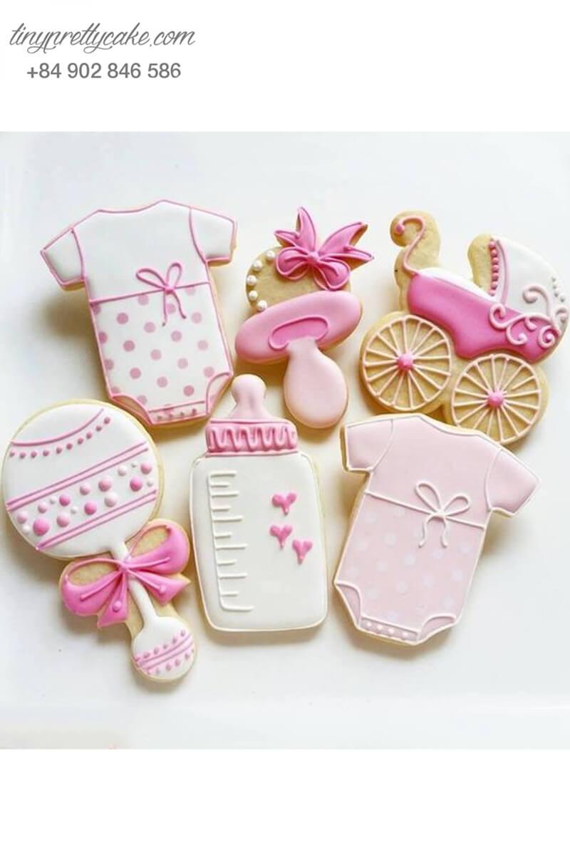 bánh cookie cho bé gái