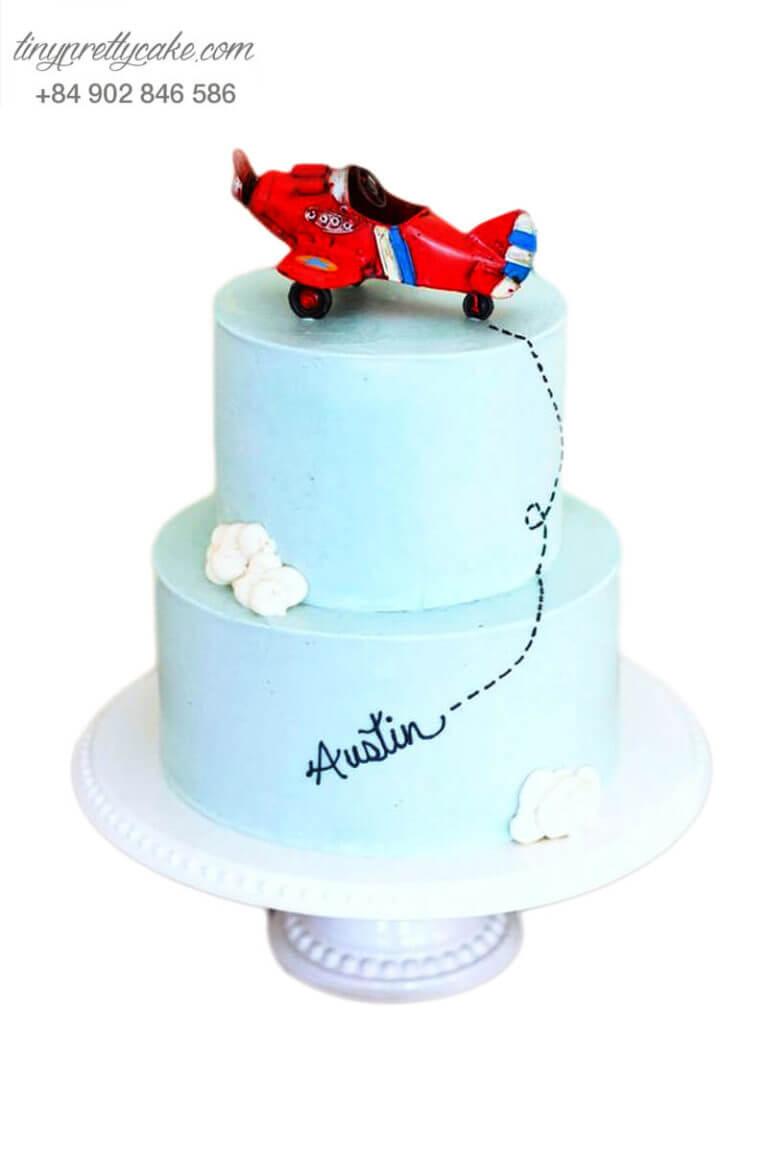 bánh sinh nhật máy bay siêu đẳng