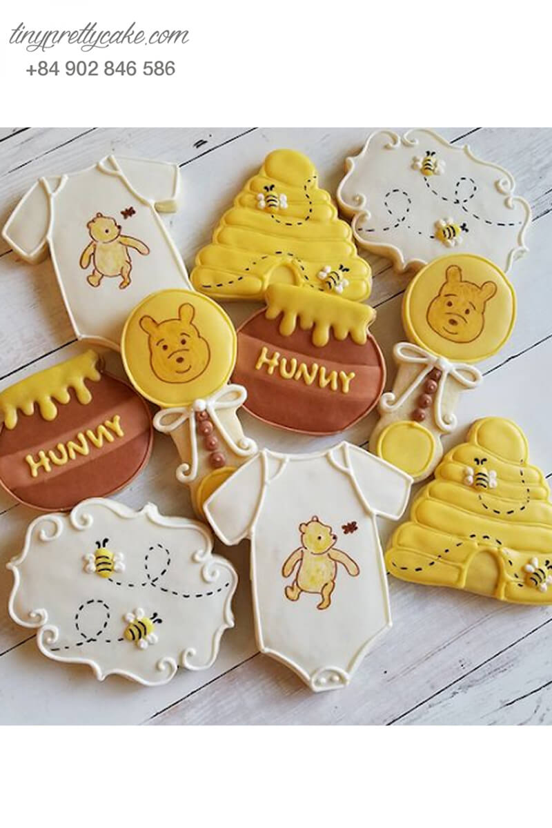 bánh cookie gấu Pooh honey