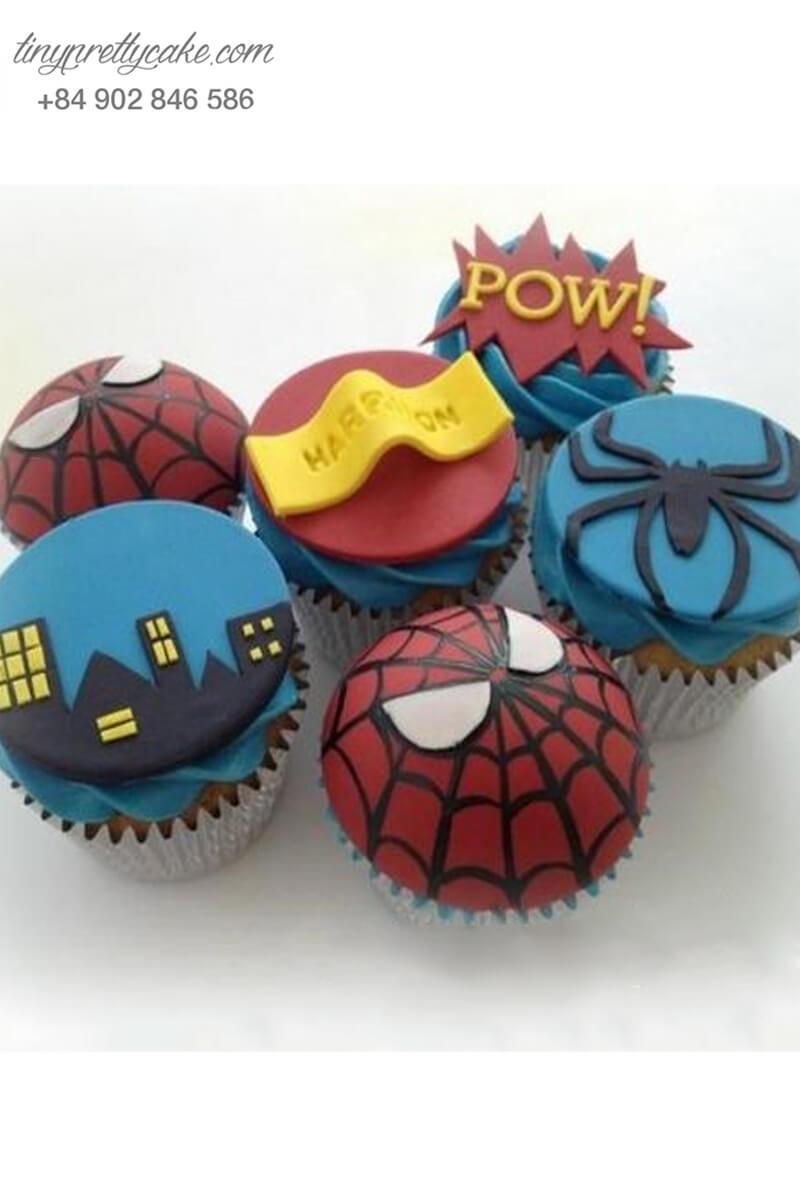 """Set 6 cupcake """"lấy lòng"""" người nhận mừng sinh nhật các bé"""