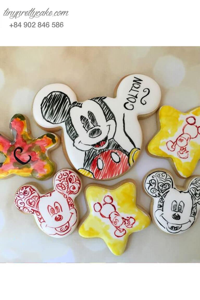 bánh cookie chuột Mickey