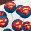 bộ bánh cake pop Superman