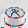 bánh sinh nhật in hình Captain America