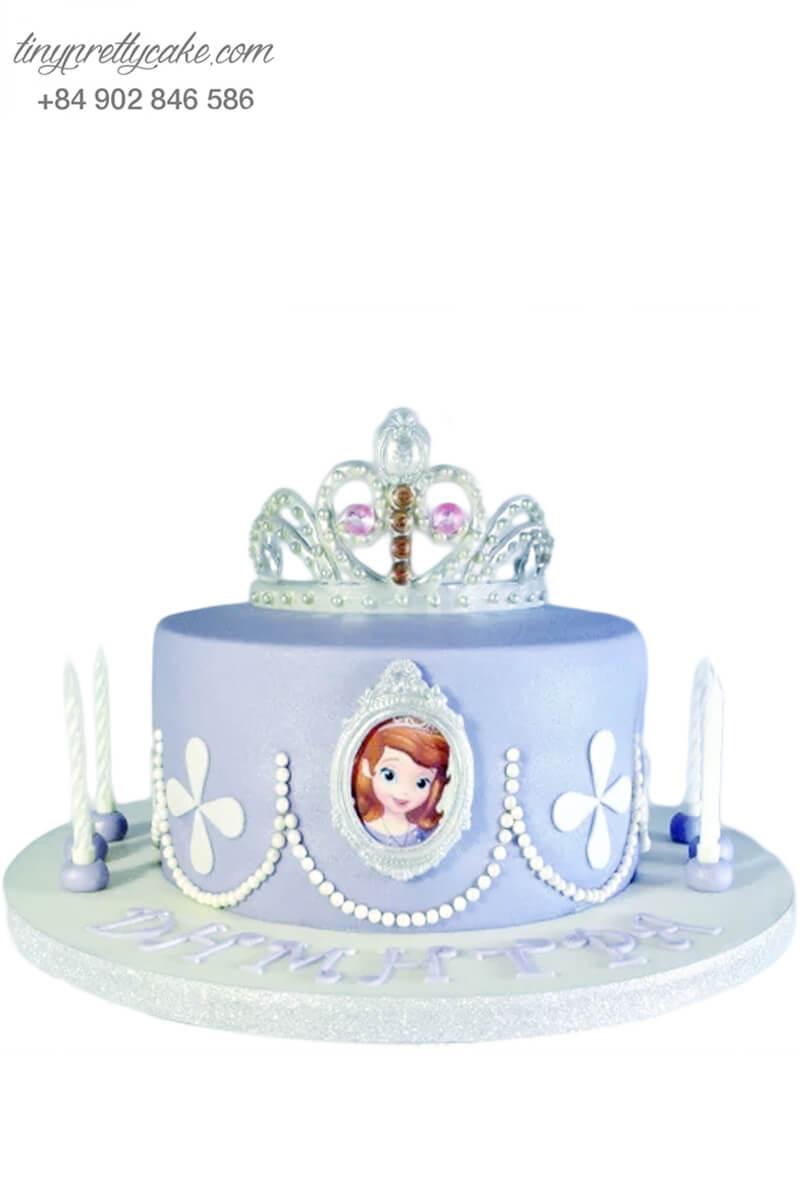 bánh sinh nhật công chúa nhỏ Sophia