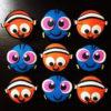 Set 9 upcake hình cá Dory và Nemo cho tình bạn thêm gắn kết mừng sinh nhật các bé