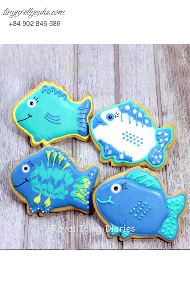 bánh cookie cá Dory