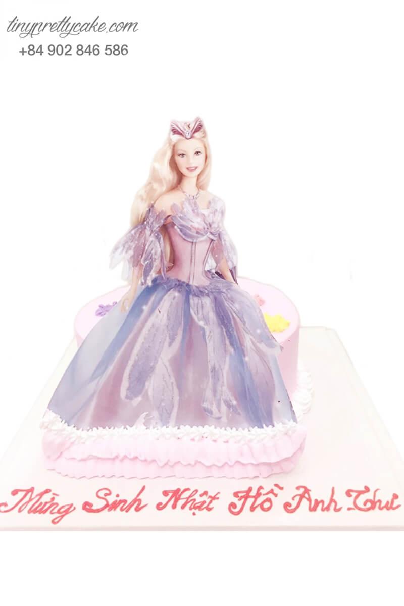 bánh sinh nhật búp bê barbie xinh đẹp