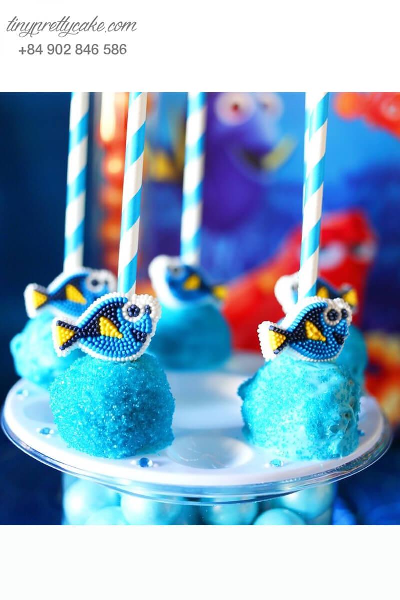 Bánh cakepop hình cá Dory dễ thương
