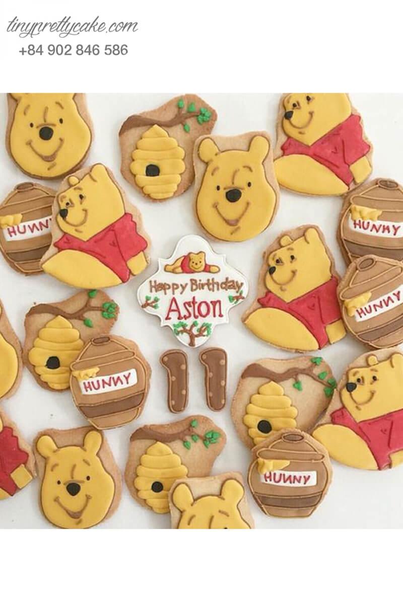 bánh cookie gấu Pooh dễ thương