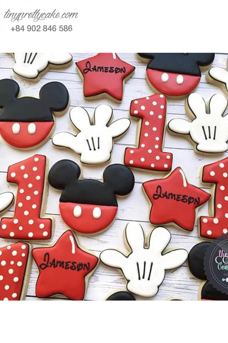 bánh cookie Mickey Disney