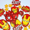 Bánh cookie Iron Man