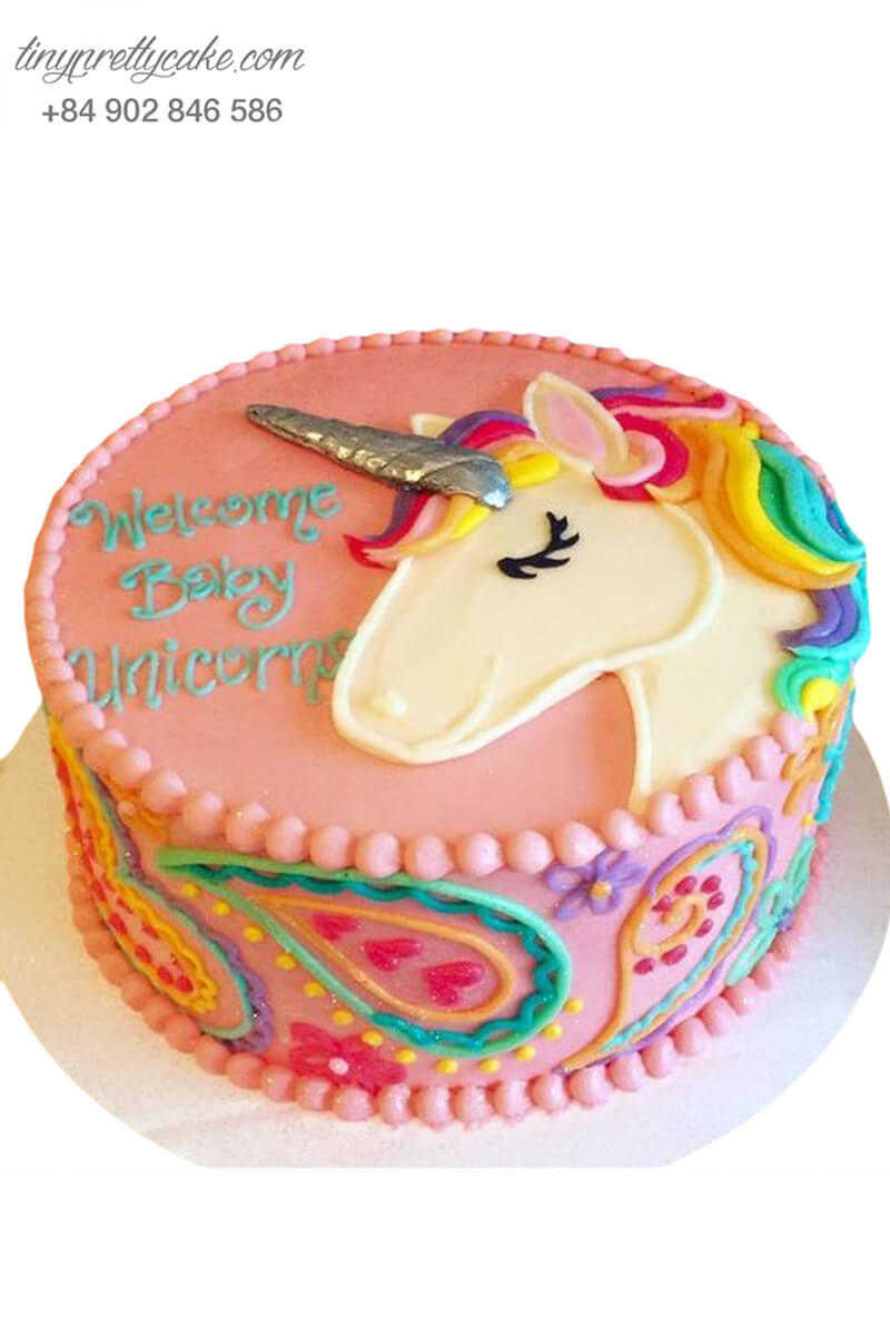 bánh sinh nhật Unicorn công chúa