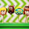 Bánh cakepop hình chó hoạt hình