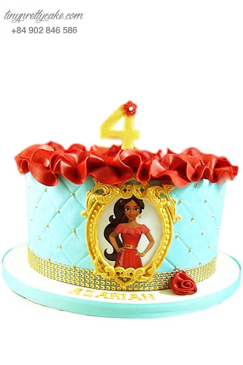 bánh sinh nhật công chúa Jasmine xinh đẹp