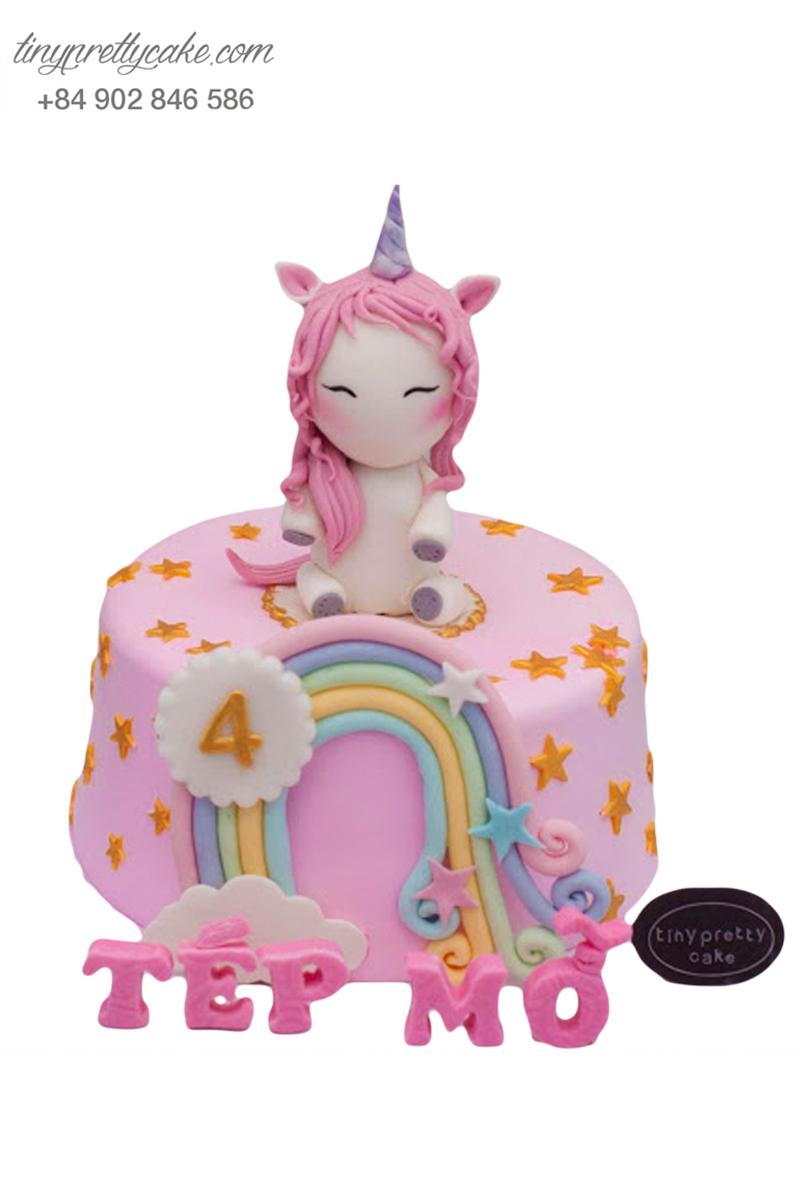 bánh sinh nhật Pony xinh đẹp