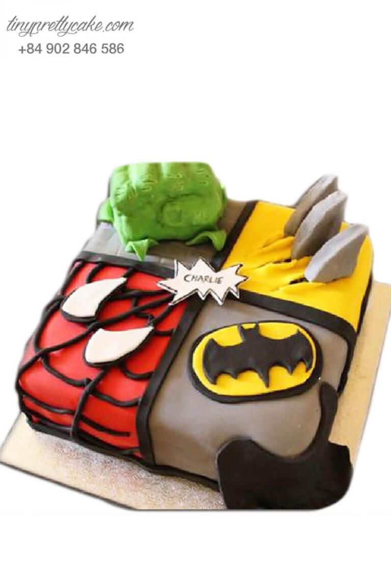 mua bánh sinh nhật siêu anh hùng ở hcm