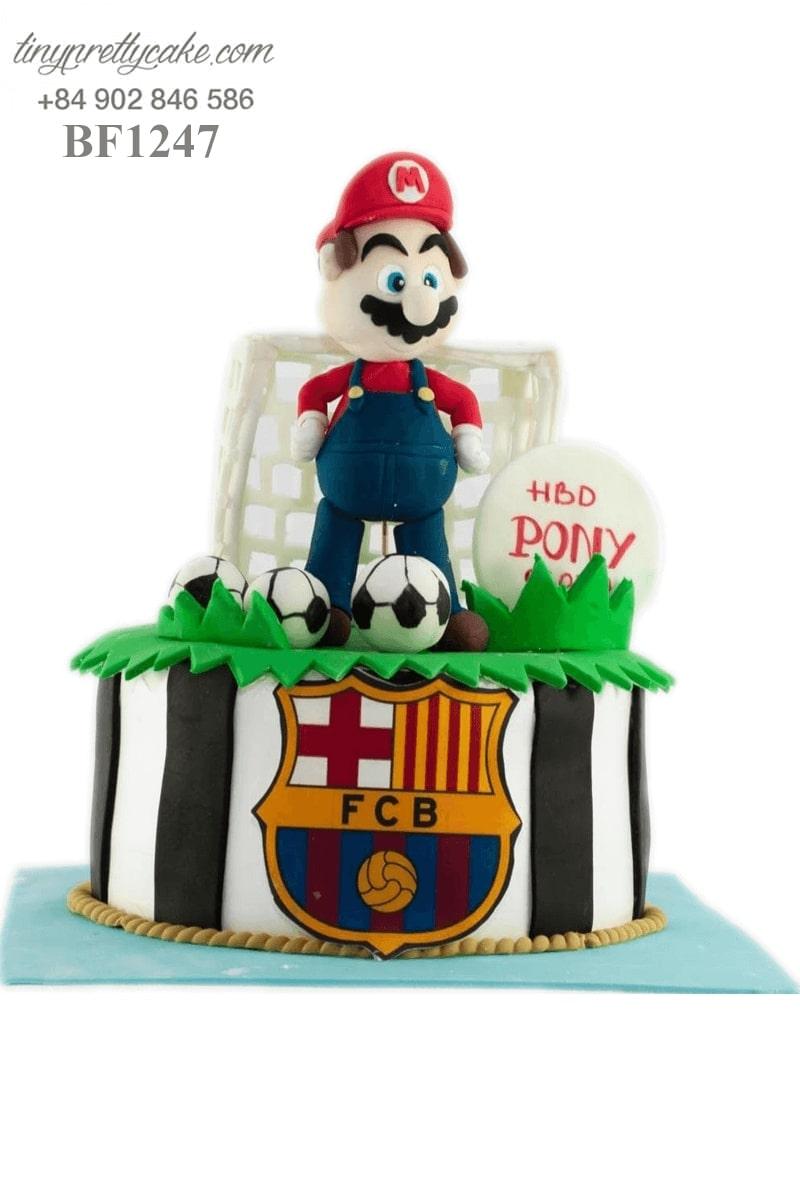 bánh kem Mario