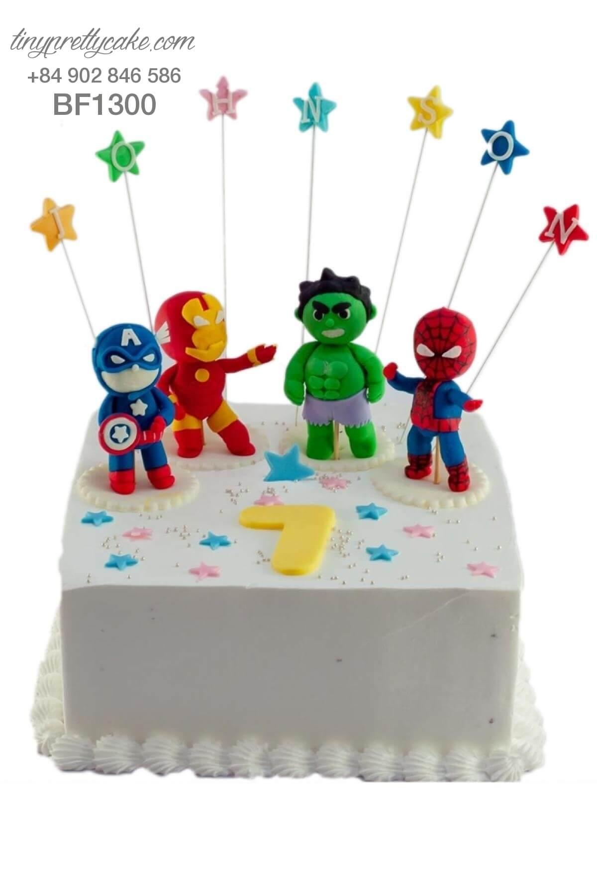 bánh sinh nhật The Avenger