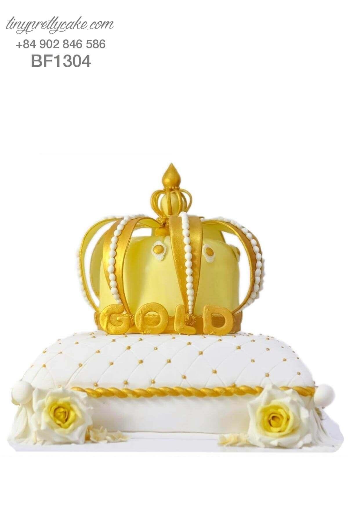 Bánh kem vương miện hoàng tử