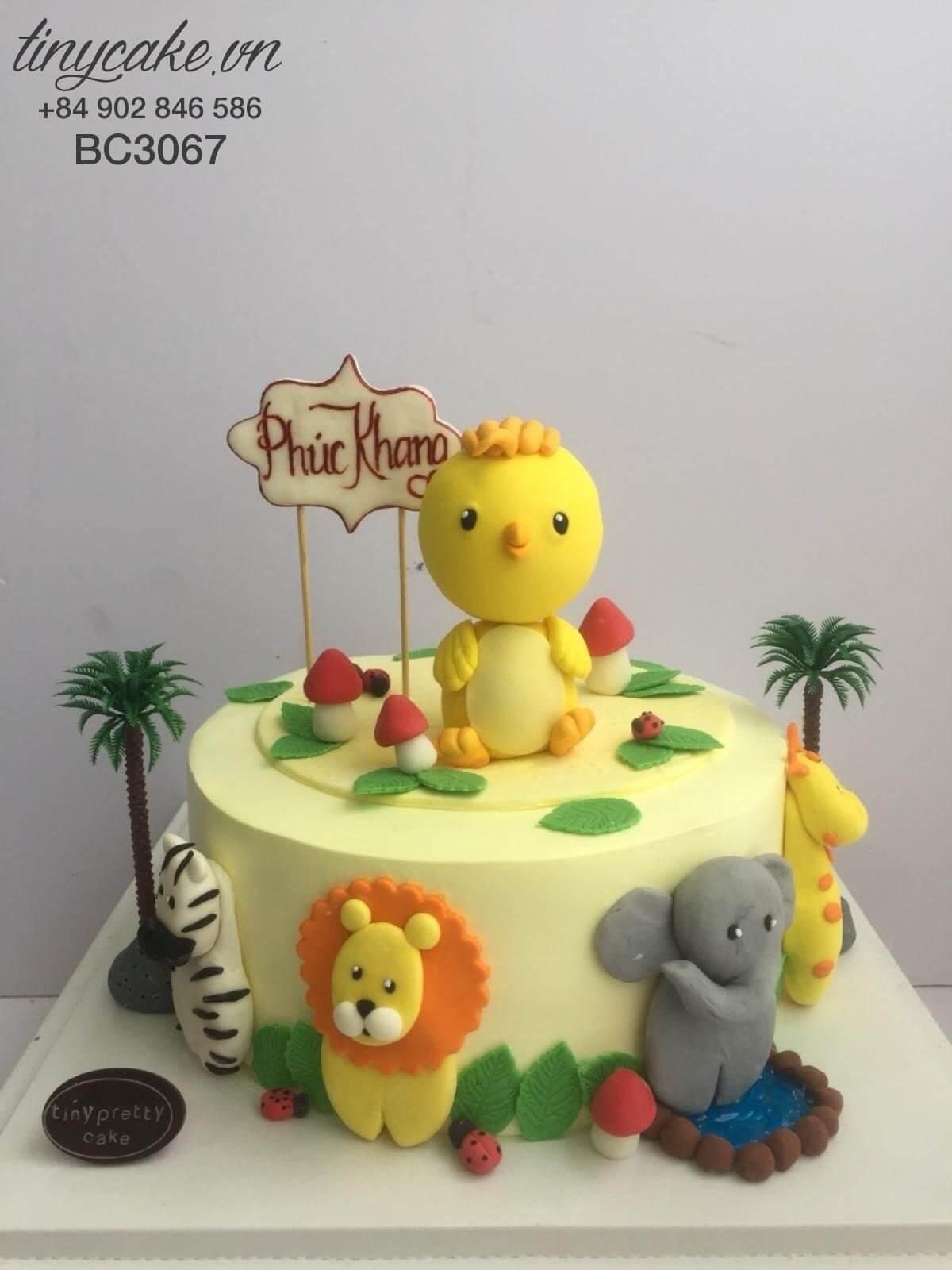 bánh sinh nhật con gà trống