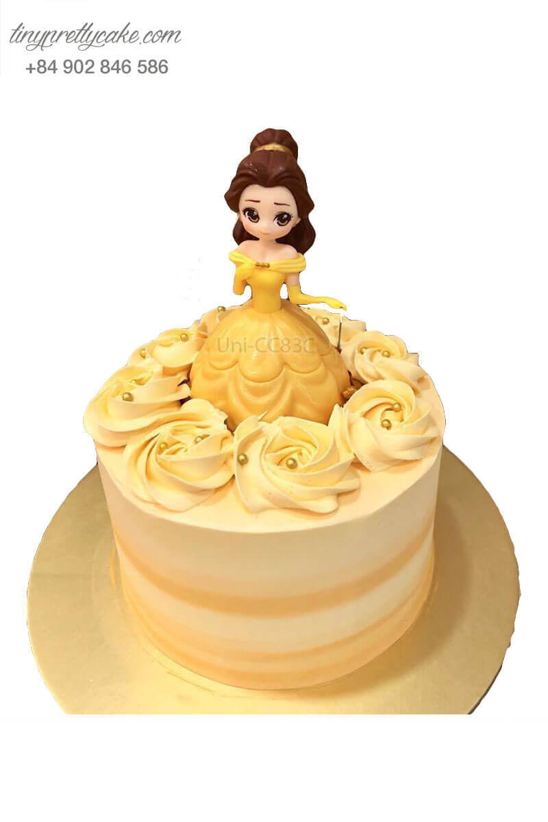 Bánh kem công chúa Belle