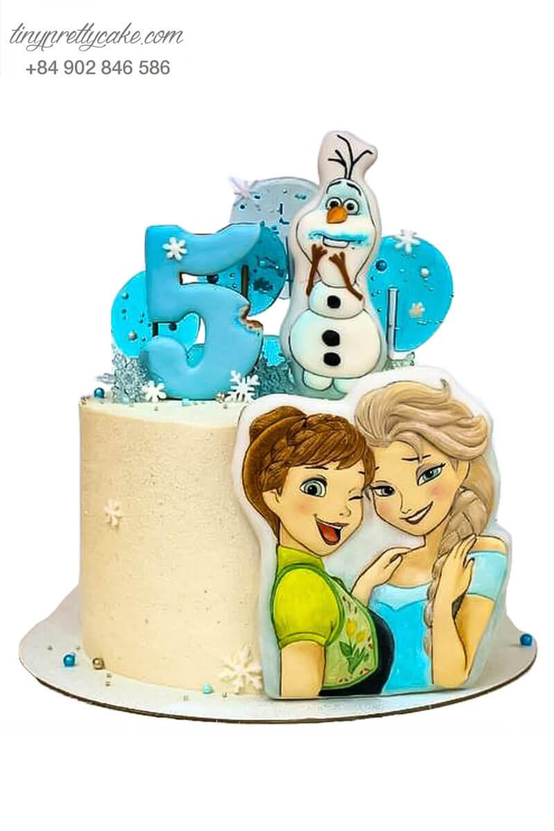 bánh kem Elsa dễ thương