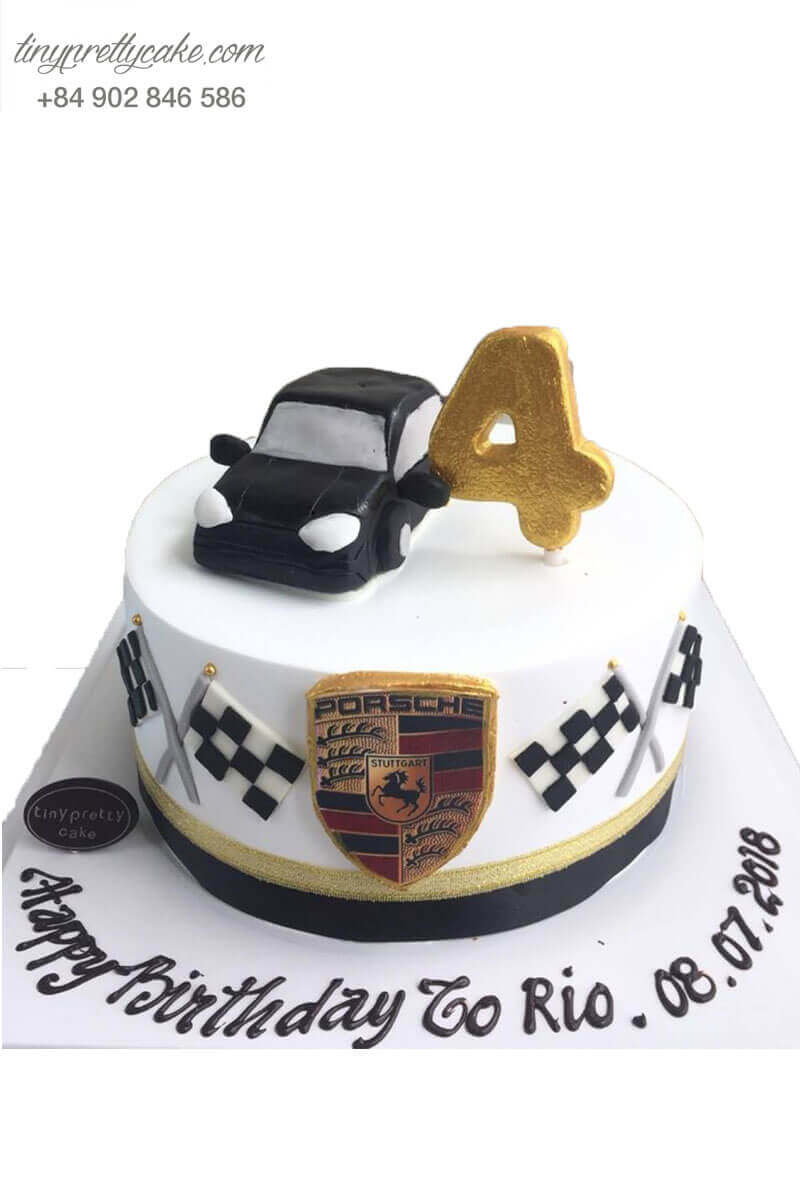 Bánh kem tạo hình xe