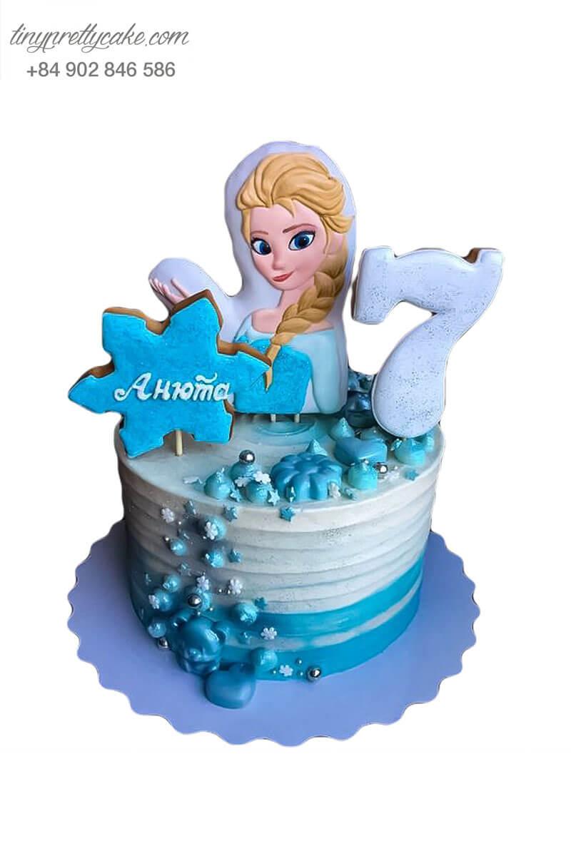 bánh kem Elsa độc đáo
