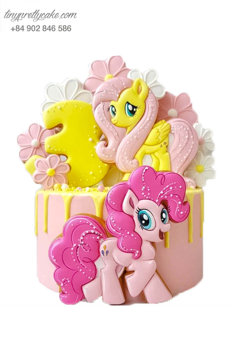 bánh gato Unicorn cho bé gái