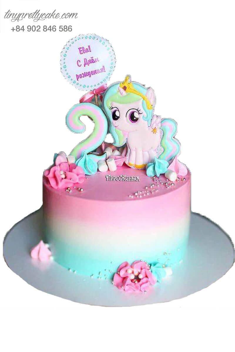 bánh kem unicorn ấn tượng