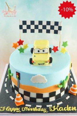 bánh sinh nhật chiếc xe hơi